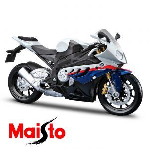Модель мотоцикла MAISTO 31101-10 (1:12) BMW S1000RR white/blue