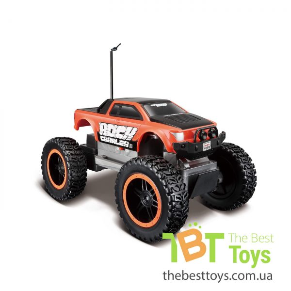 Автомодель MAISTO TECH на р/у Rock Crawler Jr. (батарейки в компл.)