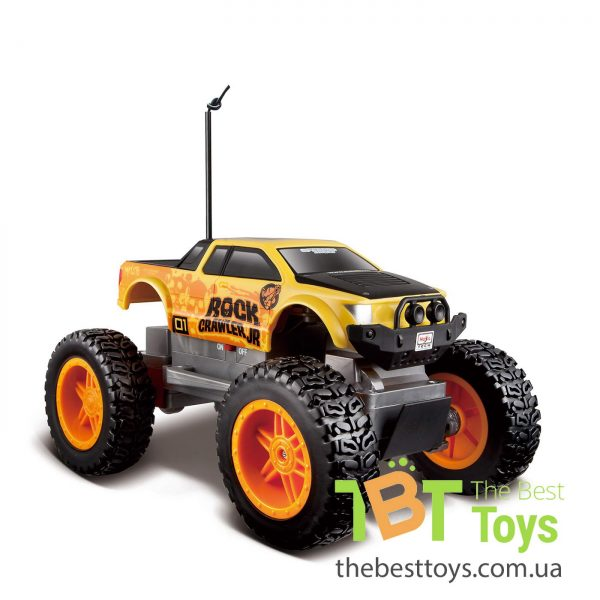Автомодель MAISTO TECH на р/к Rock Crawler Jr. (батарейки в компл.)